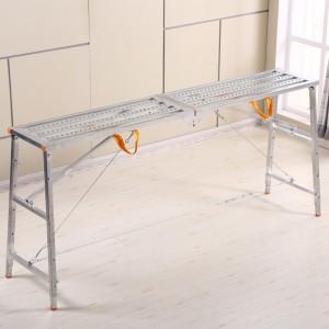 Customized Adjustable steel Portable 6.1cm length Working Platform