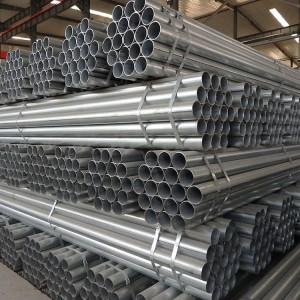 2019 wholesale price Galvanized Conduit Tube - Hot dip round carbon steel galvanized tube pipe – Goldensun