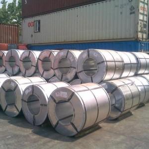 SGCC galvanized steel strip coils , zink coated cold roll , zink coated cold rolled gi coil steel