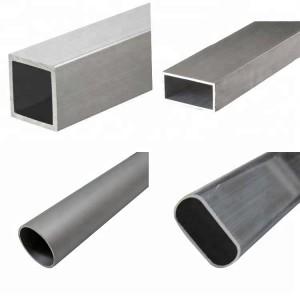 Best quality rectangular tube 50×50 aluminium profile