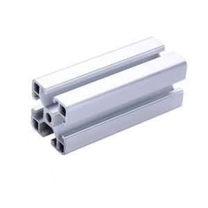 6063 t slot sliver anodized aluminum profile with aluminum oxide