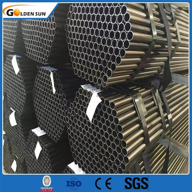 China wholesale Erw Q235 - Steel ERW black pipe – Goldensun