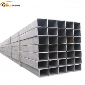 High reputation Iron Plate - 200x100mm Black Rectangular Hollow Section Construction Steel Tube – Goldensun